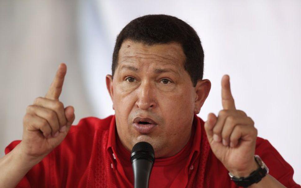 Hugo Chávez, forseti Venesúela, er vinur vina sinna.