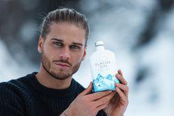Rúrik Gíslason hefur hafið samstarf við þekktasta kristalsframleiðanda Danmerkur, Glacier gin x Frederik Bagger.
