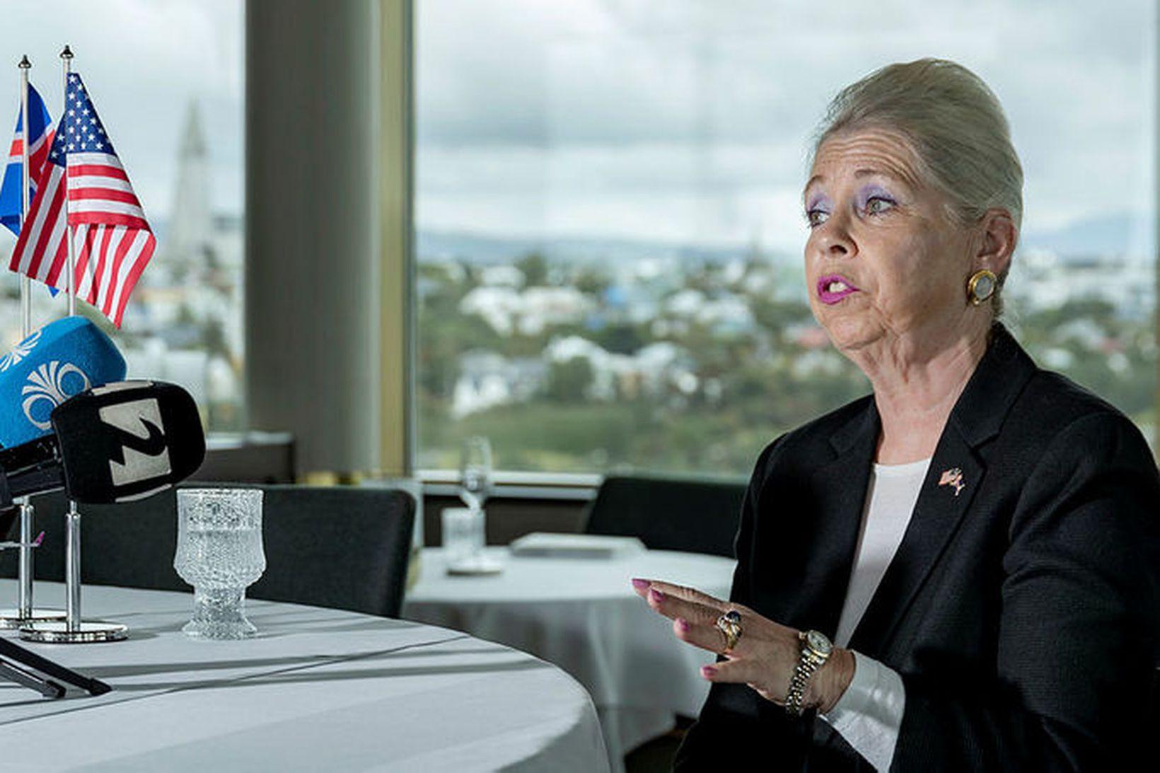 Michelle Roosevelt Edwards, stjórnarformaður USAerospace Associates og tilvonandi stjórnarformaður WOW …