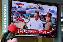 Frétt CNN um heilsuleysi Kim Jong Un.