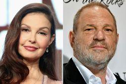 Ashley Judd og Harvey Weinstein.