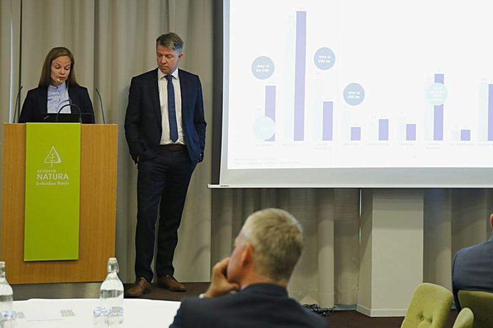 Fundur Icelandair Group á Hótel Natura.