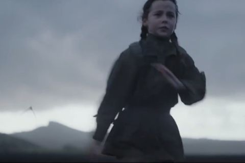 Footage from Star Wars Rogue One from scenes filmed in Iceland.