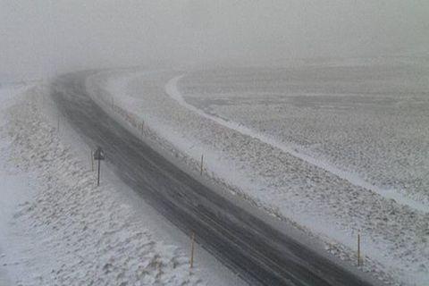 From Öxnadalsheiði mountain pass.
