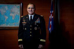 Curtis Michael Scaparrotti, yfirhershöfðingi NATO í Evrópu.