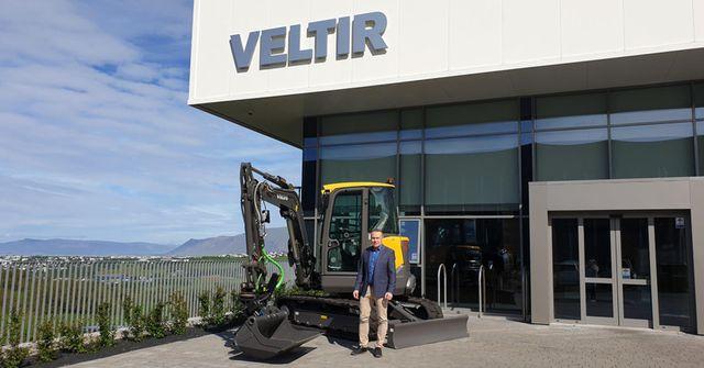 Nýr framkvæmdastjóri Veltis – Volvo