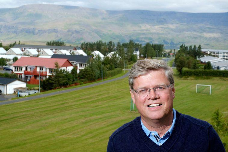 Mosfellsbær Mayor Haraldur Sverrisson.