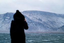 Konunni var vísað af landi brott þegar hún var gengin 35 vikur og 5 daga.