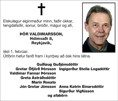 Þór Valdimarsson,