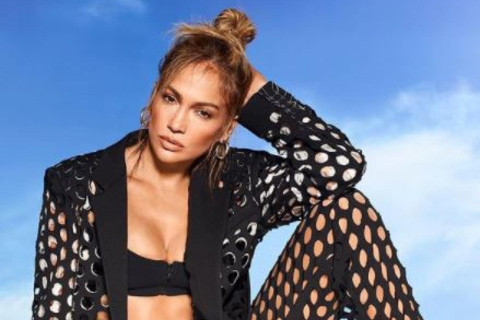 Netadragt Jennifer Lopez hefur vakið athygli.