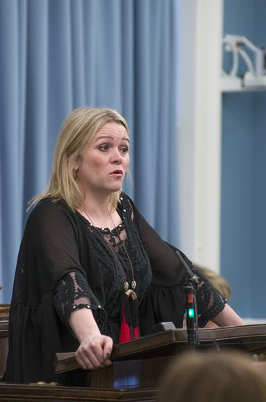 Katrín Júlíusdóttir, þingmaður Samfylkingarinnar.