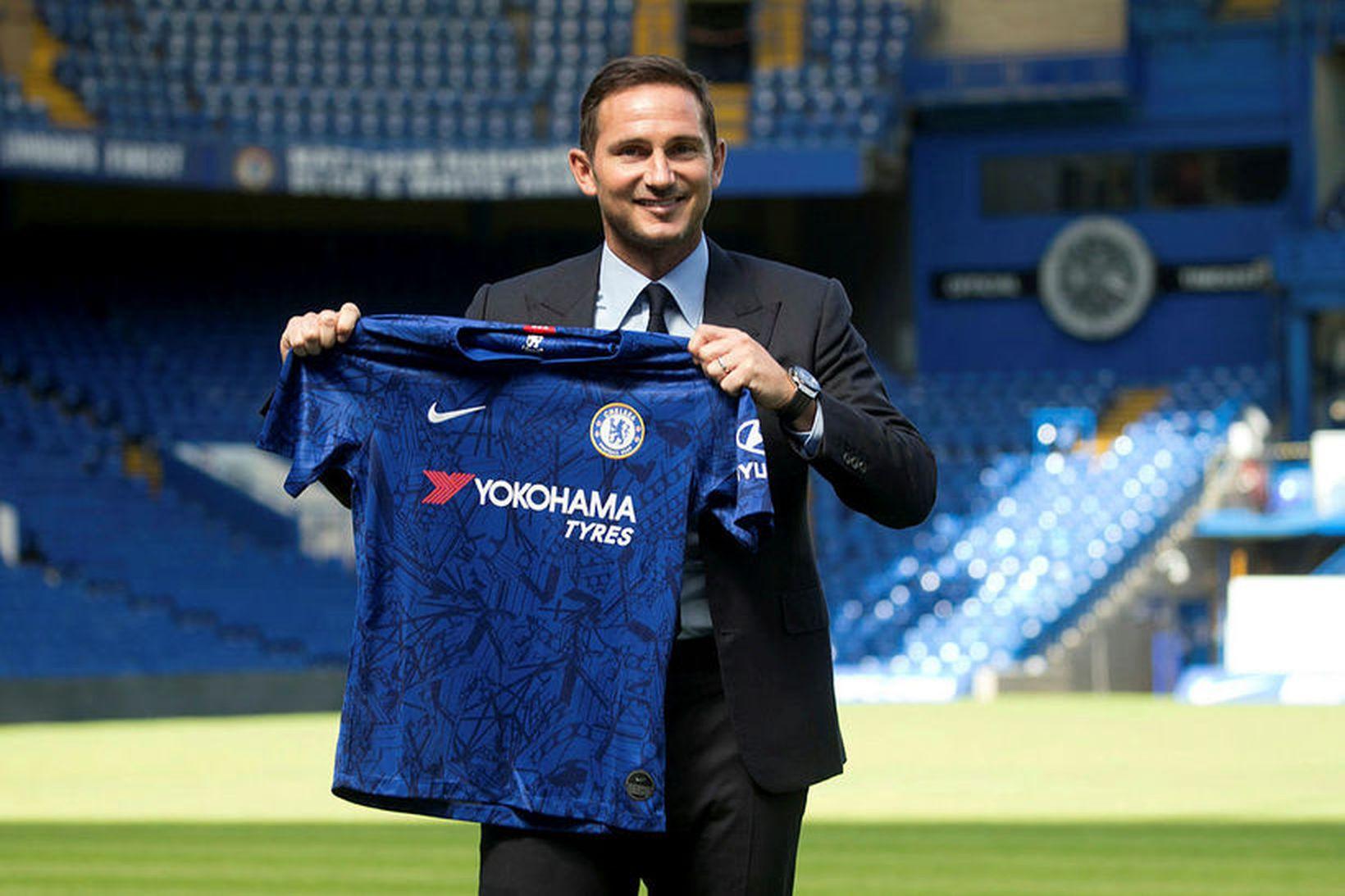 Frank Lampard tók við Chelsea í síðustu viku en hann …