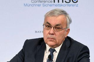 Sergey Vershinin, aðstoðarutanríkisráðherra Rússlands, á öryggisráðstefnunni í München.