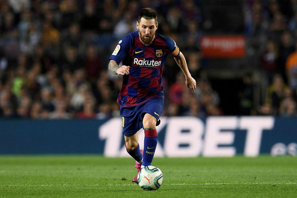 Lionel Messi vildi fara frá Barcelona en ekkert tilboð barst.