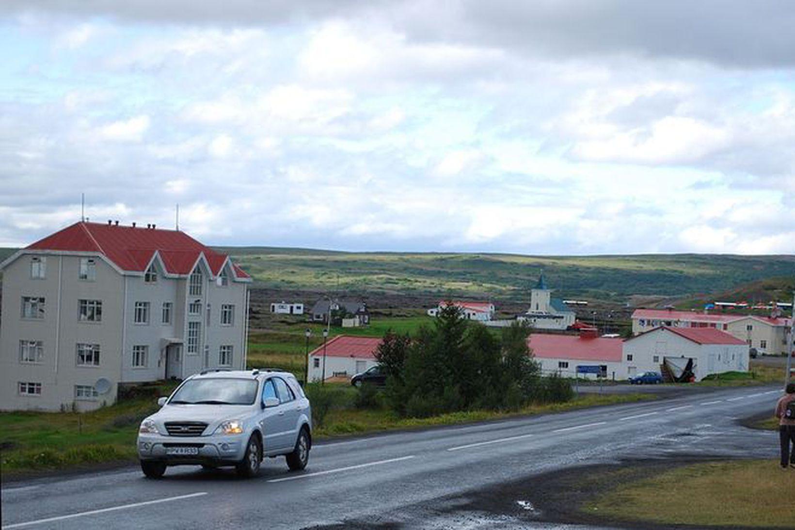 Frá Reykjahlíð í Skútustaðahreppi