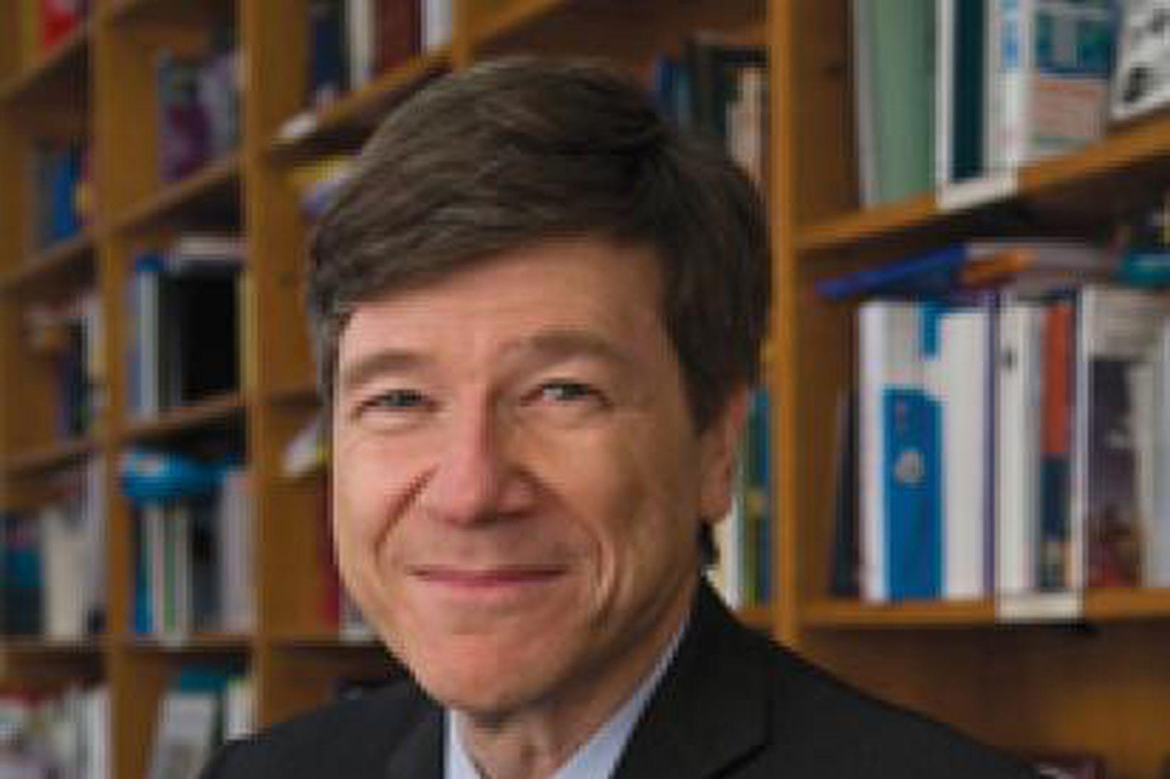 Prófessor Jeffrey Sachs.