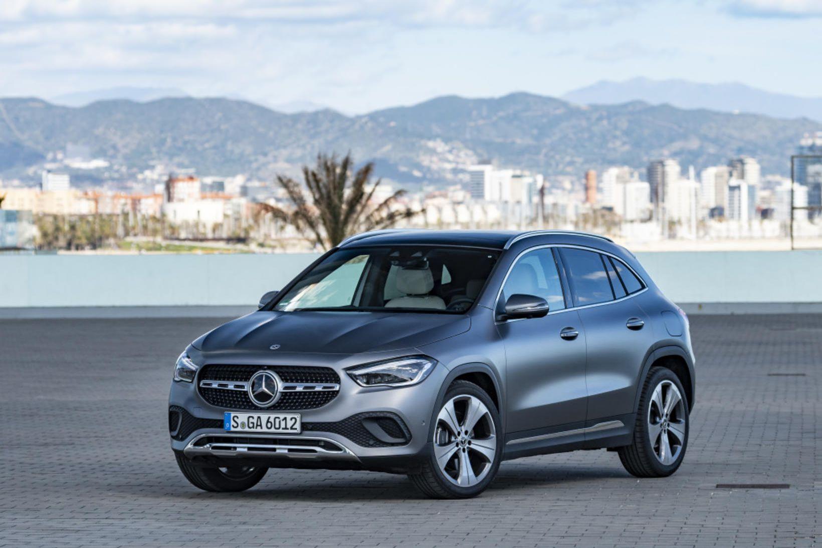 Hinn nýi Mercedes-Benz GLA.
