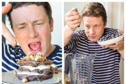 Jamie Oliver er snillingur í að sameina næringarríkan hollan mat og fljótlegar aðferðir.