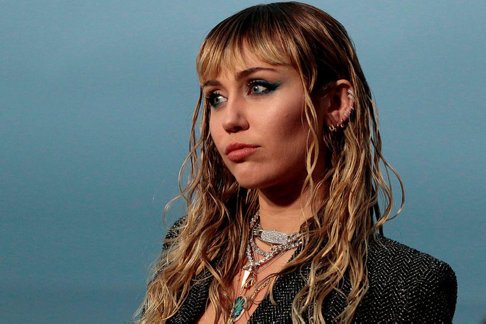 Miley Cyrus hefur áhyggjur af hlýnun jarðar og hefur ekki …