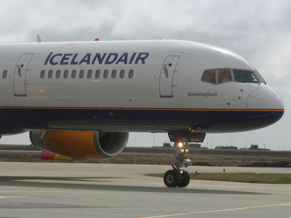 One of Icelandair's Boeing 757 aircraft.