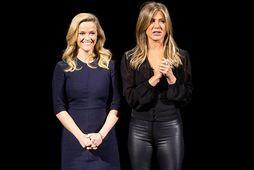 Reese Witherspoon og Jennifer Aniston hugsa vel um mataræðið.