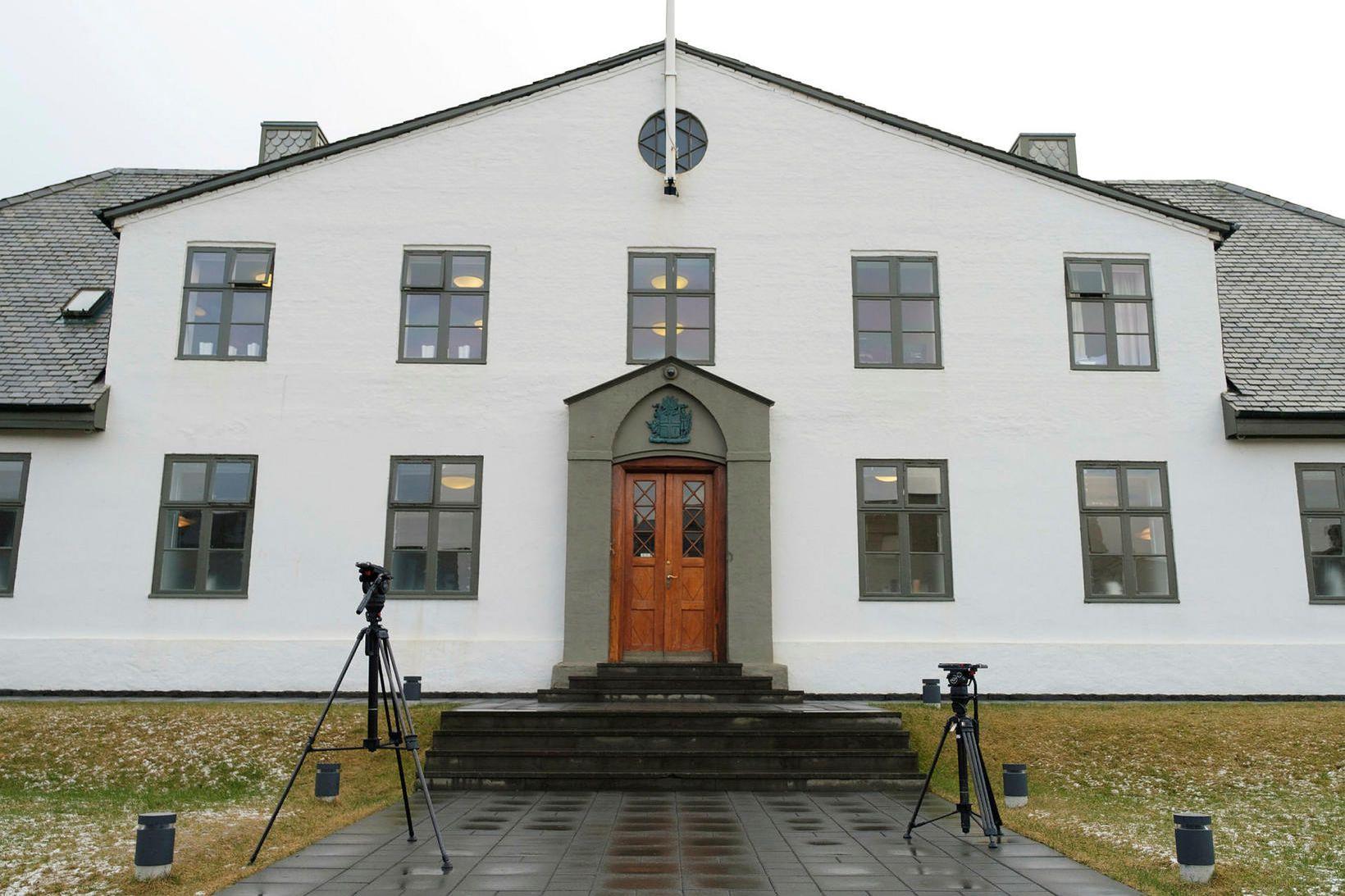 Stjórnarráðið fór ekki að settum reglum.