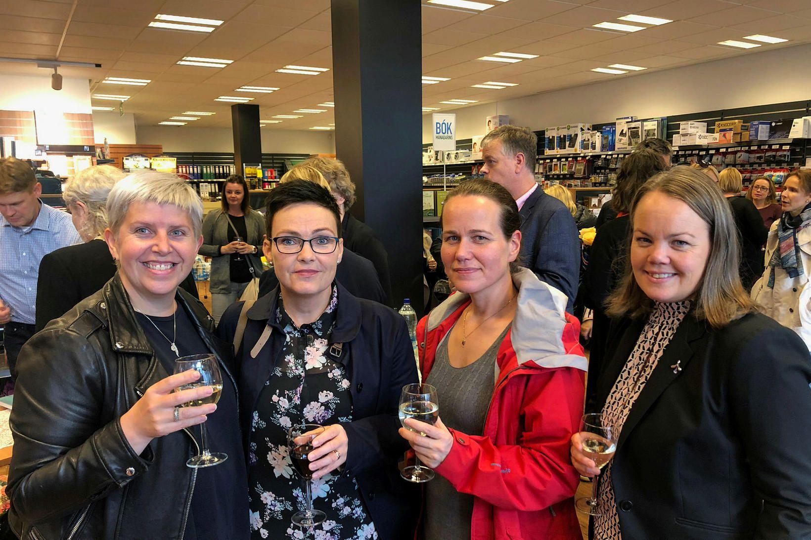 Anna Sveinsdóttir, María Guðmundsdóttir Gígja, Halldóra Bergþórsdóttir, Ingveldur Erlingsdóttir.