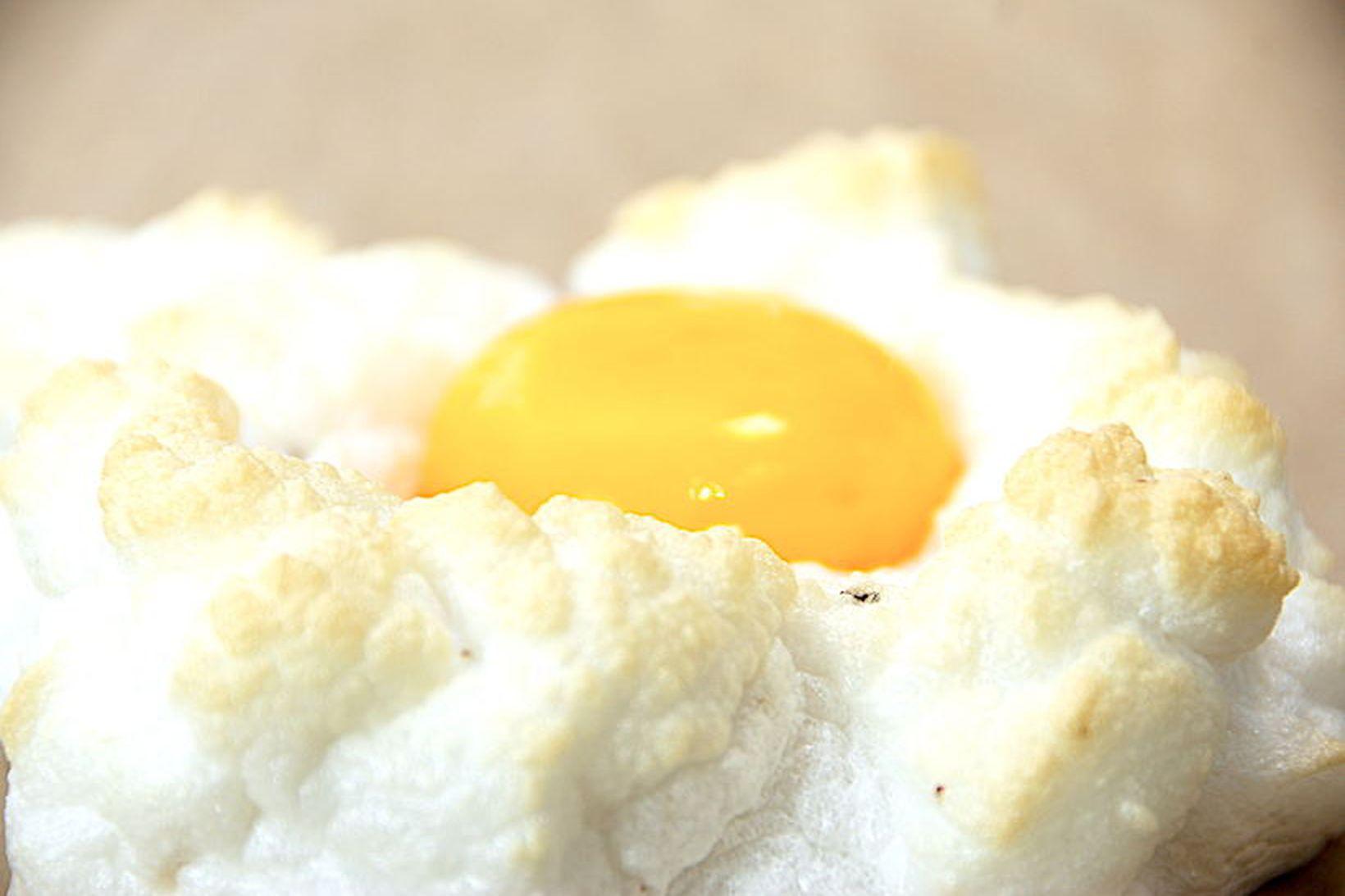 Egg á skýi er það krúttlegasta sem þú munt sjá …