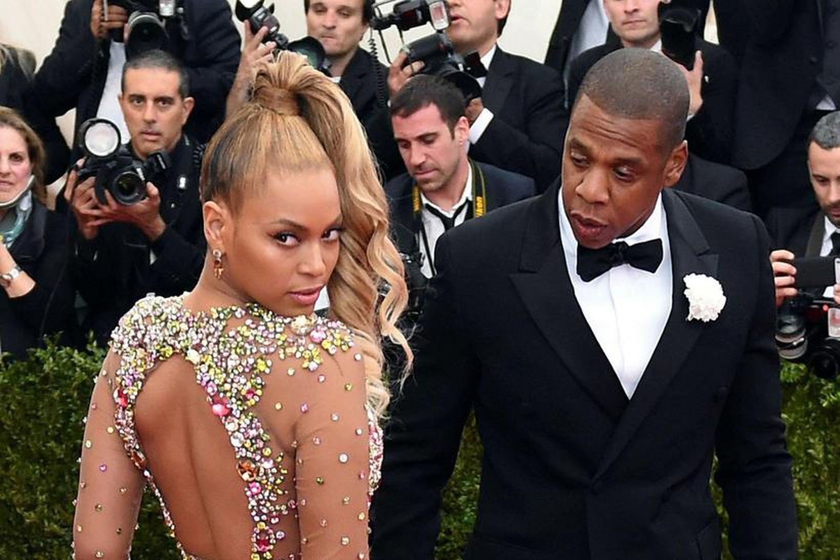 Beyoncé og Jay-Z eiga þrjú börn.