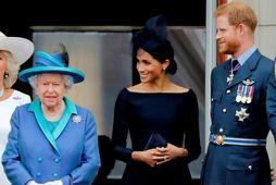 Drottningin vill ekki að Meghan og Harry noti konunglegan titil í markaðssetningu sinni.
