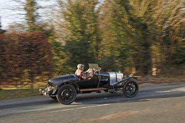 Elsta eintakið af Aston Martin sem enn er keyrandi, módelið A3.