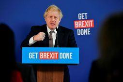 Boris Johnson leggur mikla áherslu á að klára Brexit en vill ekki blanda fjölskyldu sinni …