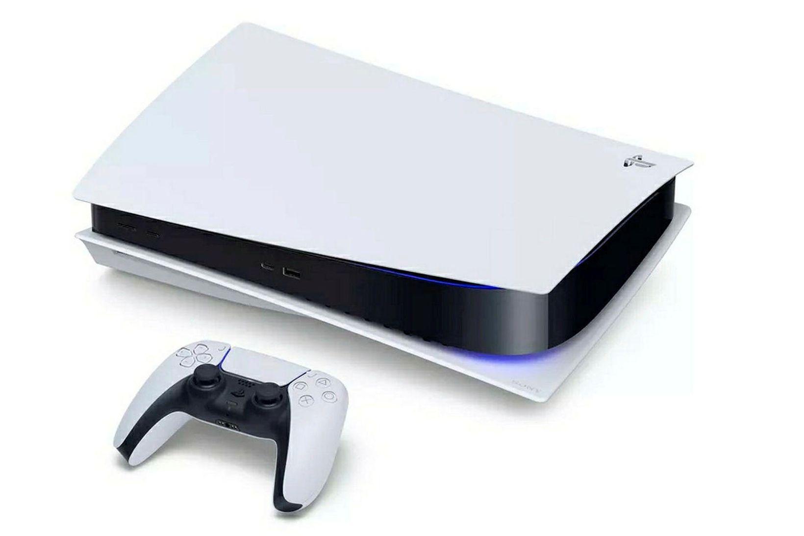 PlayStation 5 var ein vinsælasta jólagjöf síðasta árs, þó erfitt …