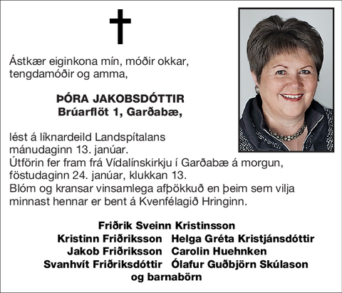 Þóra Jakobsdóttir
