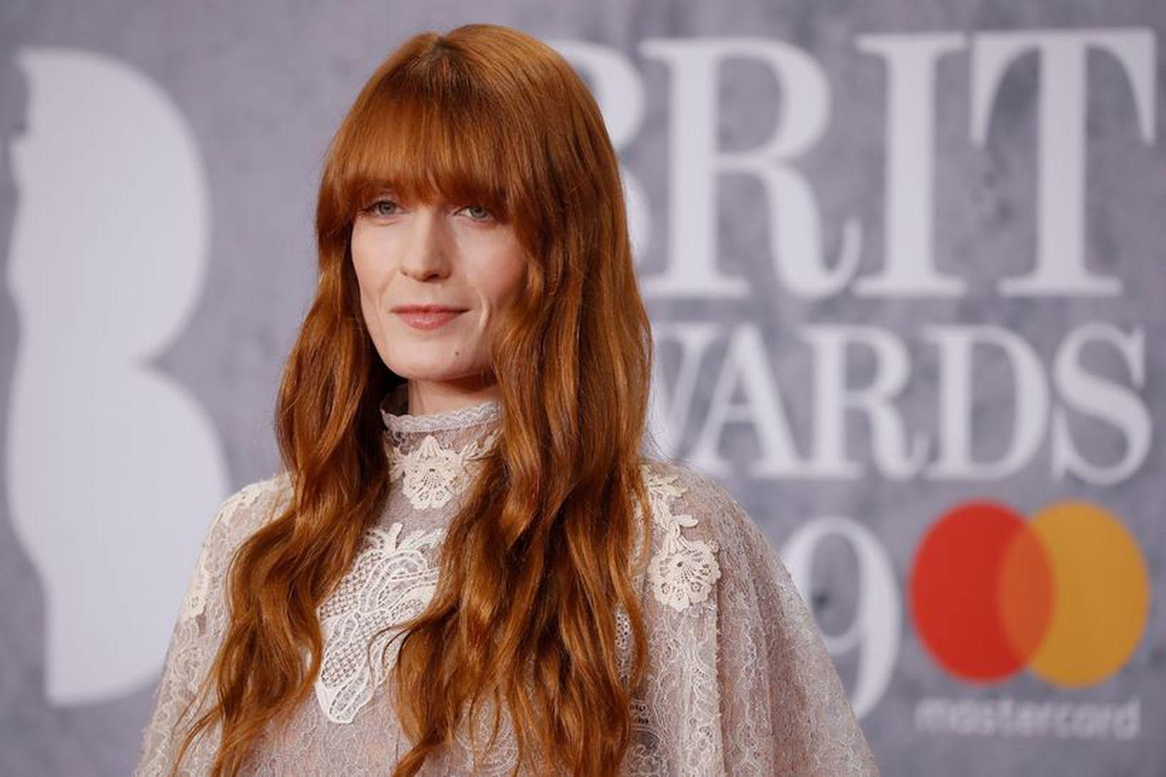 Florence Welch glímdi við fíknisjúkdóm og átröskun.