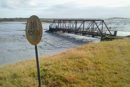 Brúin yfir Skaftá við Svínadal
