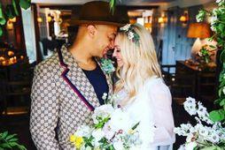 Jade Jones og Emma Bunton eru gift.