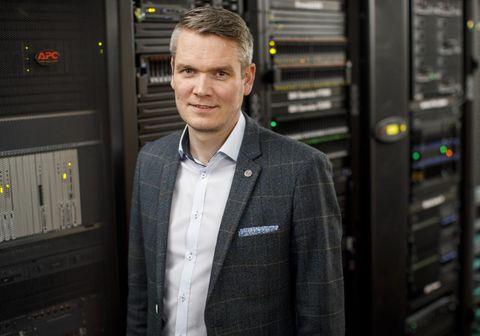 Anton Már Egilsson, forstöðumaður öryggismála hjá Origo.