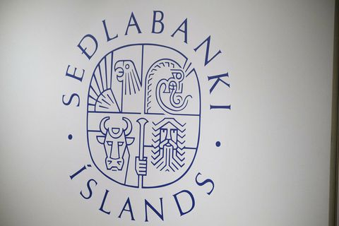 Seðlabanki Íslands.
