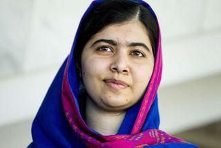 Nóbelsverðlaunahafinn Malala Yousafzai er átján ára gömul í dag