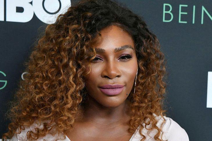 Serena Williams á frumsýningu Being Serena.