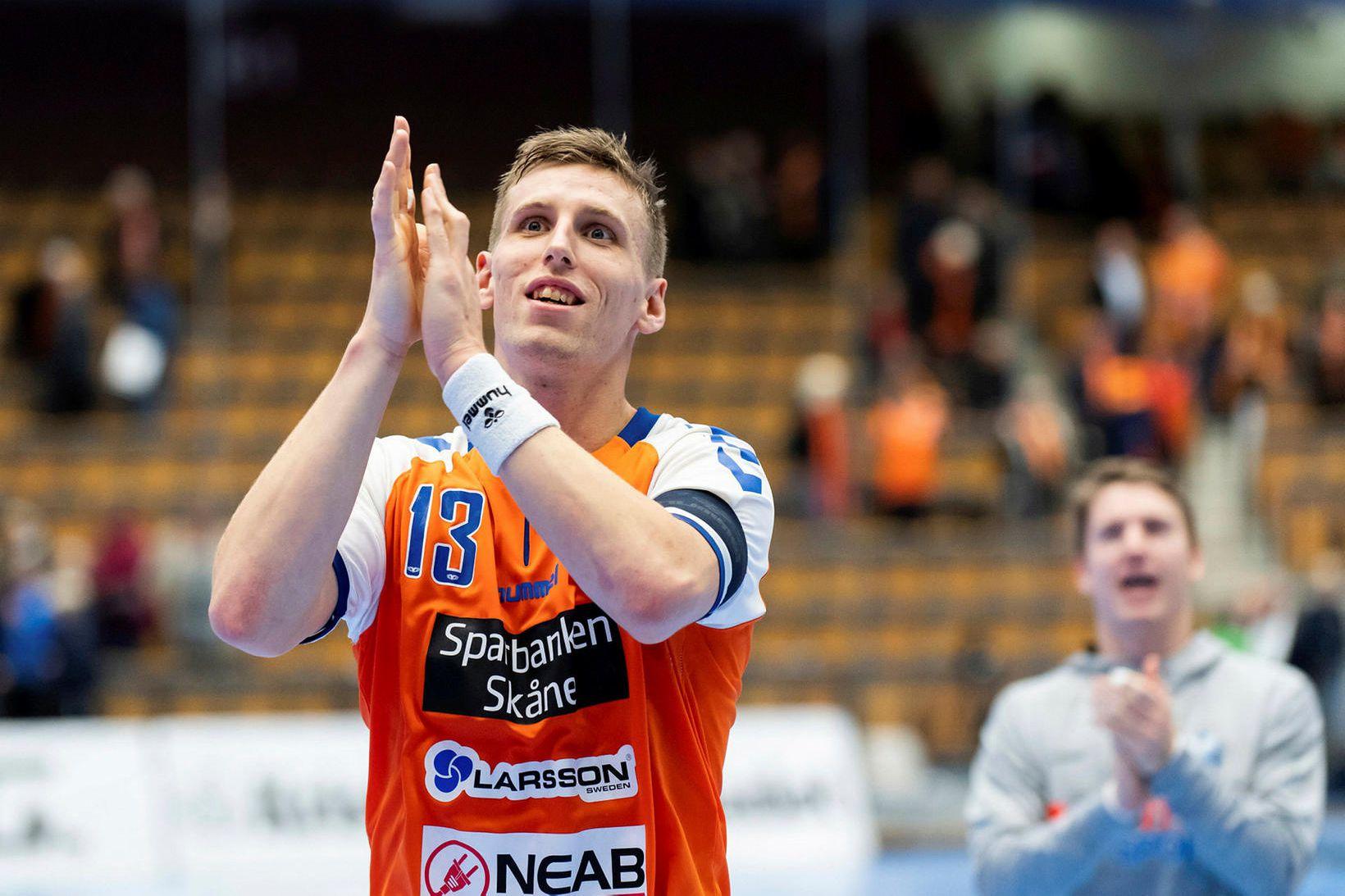 Ólafur Andrés Guðmundsson hyggst halda kyrru fyrir hjá Kristianstad.