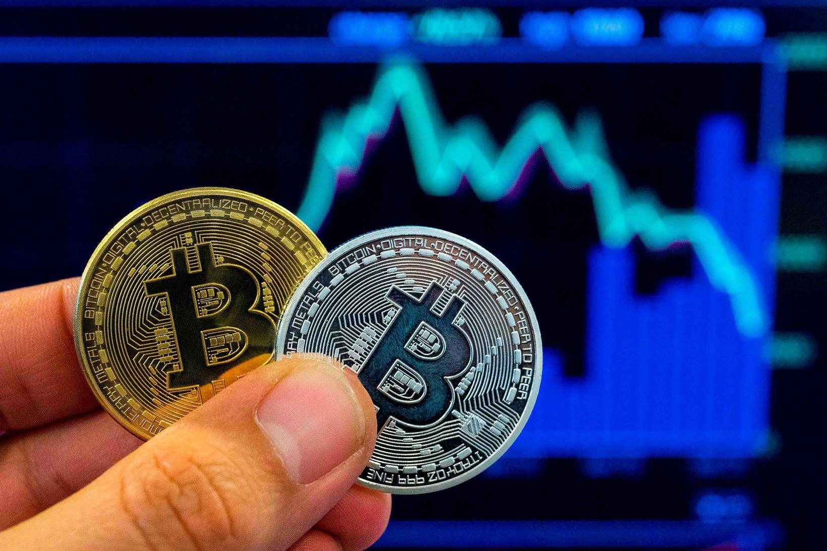 Einn bitcoin er nú 30 þúsund dollara virði.