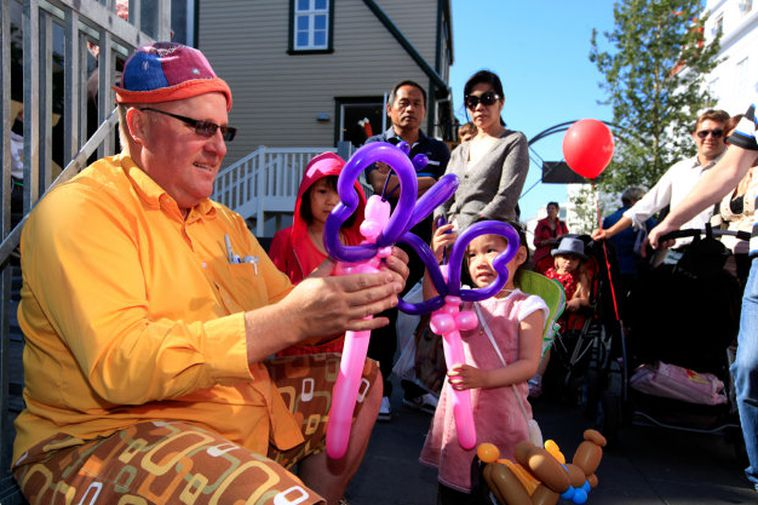 Culture Night in Reykjavik attracts large crowds of people of all ages.