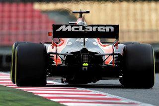 McLaren á ferð.