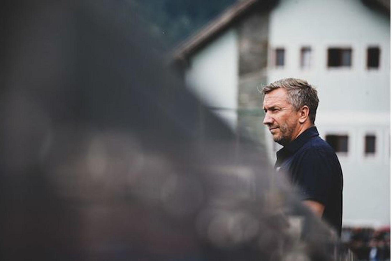 Manfred Schmid, þjálfari Austría Vín.