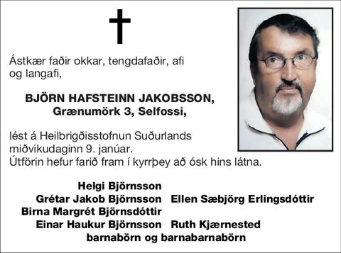 Björn Hafsteinn Jakobsson,