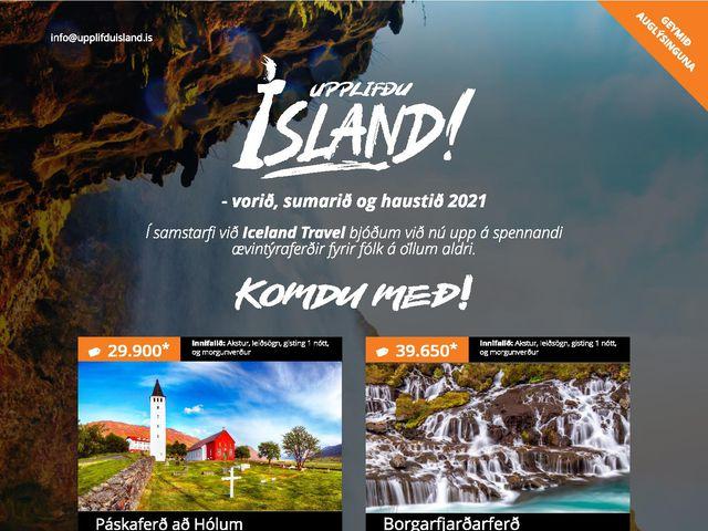 Upplifðu  Ísland