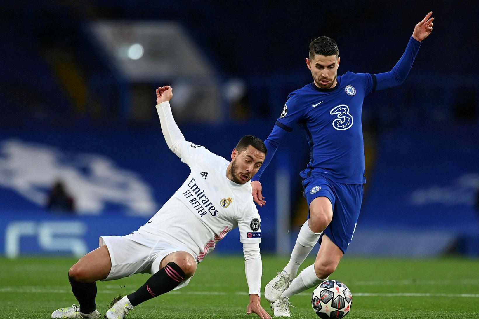 Eden Hazard í leiknum Chelsea á miðvikudagskvöldið.