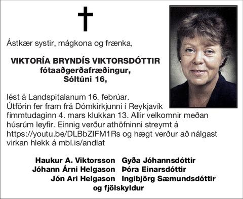 Viktoría Bryndís Viktorsdóttir